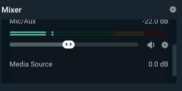 Ajustando el volumen