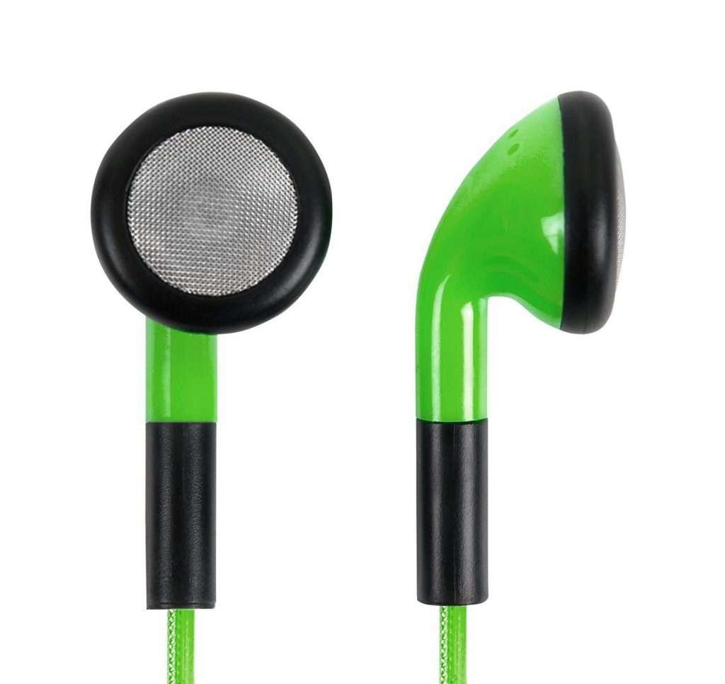 auriculares boton